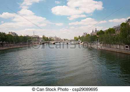 Stock Photographs of Pont du Carrousel.