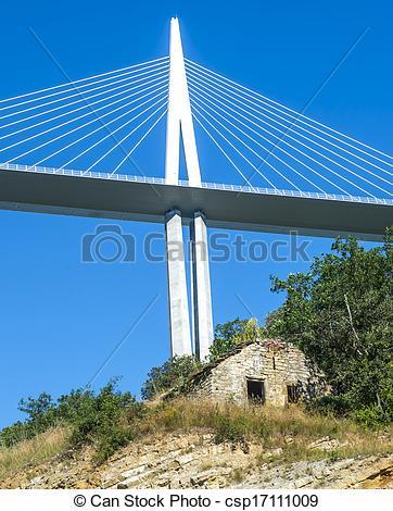 Photographies de pont, millau, (france).
