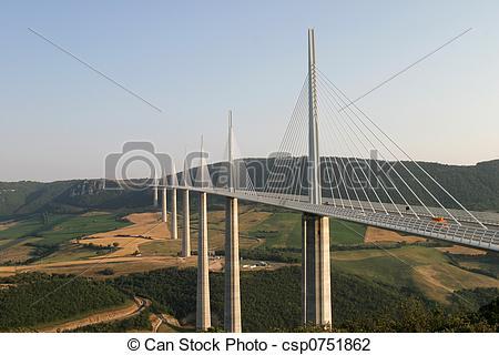 Photo de pont, millau.