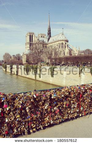"""""""pont De L Archeveche"""" Stock Photos, Royalty."""