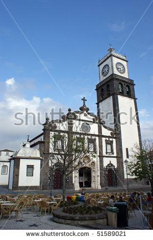 Vector Images, Illustrations and Cliparts: Igreja Matriz de Sao.