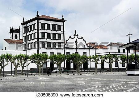 Stock Photography of Convento de Nossa Senhora da Esperança, Ponta.