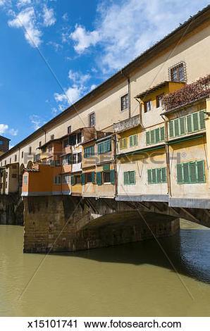 Stock Photography of Ponte Vecchio, Firenze x15101741.