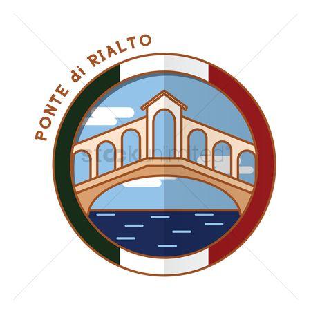 Free Ponte Di Rialto Stock Vectors.