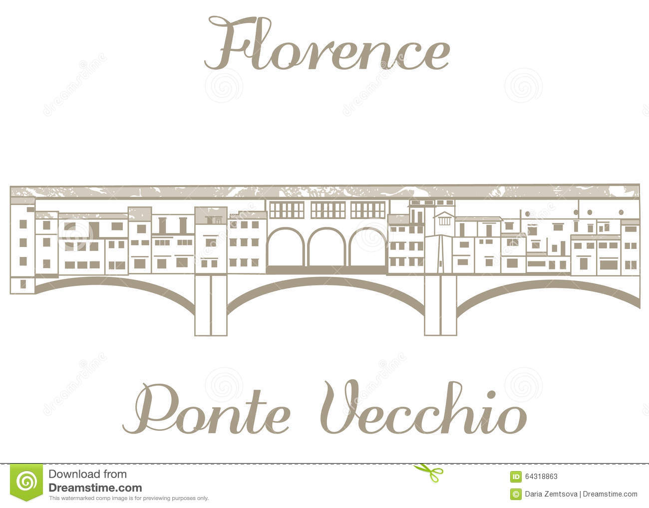 Ponte Stock Illustrations.