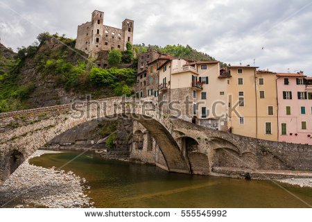 Dolceacqua Stock Images, Royalty.