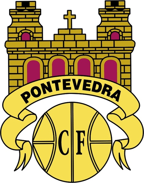 Pontevedra cf Free vector in Encapsulated PostScript eps ( .eps.