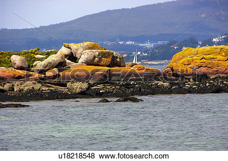 Pictures of Spain, Galicia, Pontevedra, Arousa, Island, Arousa.