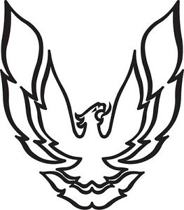 Details about Pontiac Firebird Trans Am Logo Bird Vinyl Decal Your Color  Choice Sticker.