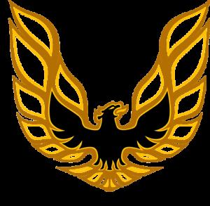 Details about Pontiac FIREBIRD Logo, Screaming Chicken, Gold, Refrigerator  Magnet,READ LISTING.