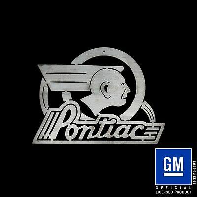 SPEEDCULT / NEW Item / Pontiac Indian / Logo / Sign.
