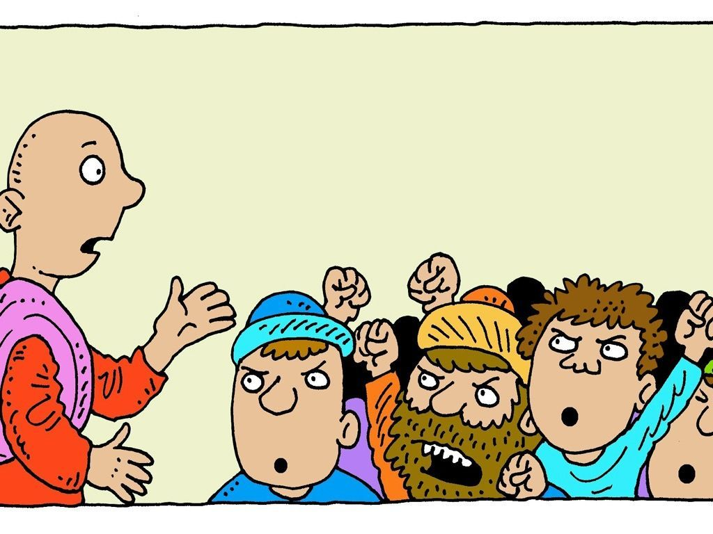 Free visuals: Pontious Pilate offers to release Jesus or.