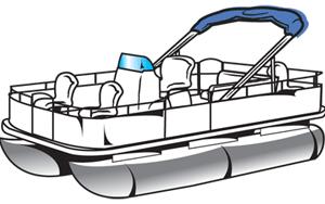 Clipart pontoon boat » Clipart Portal.