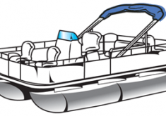 Extremely Pontoon Boat Clipart Classy Collection Of 14 Free.