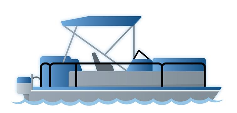 40+ Pontoon Boat Clip Art.