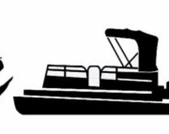 Pontoon Boat Silhouette at GetDrawings.com.