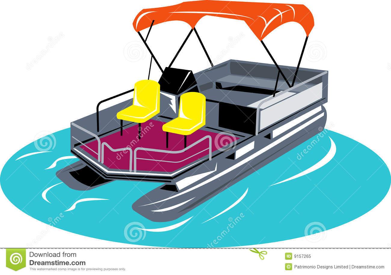 Pontoon Boat Clip Art & Look At Clip Art Images.