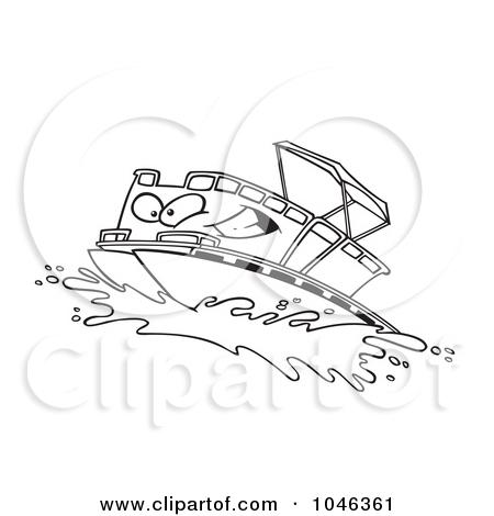 Pontoon clipart #15