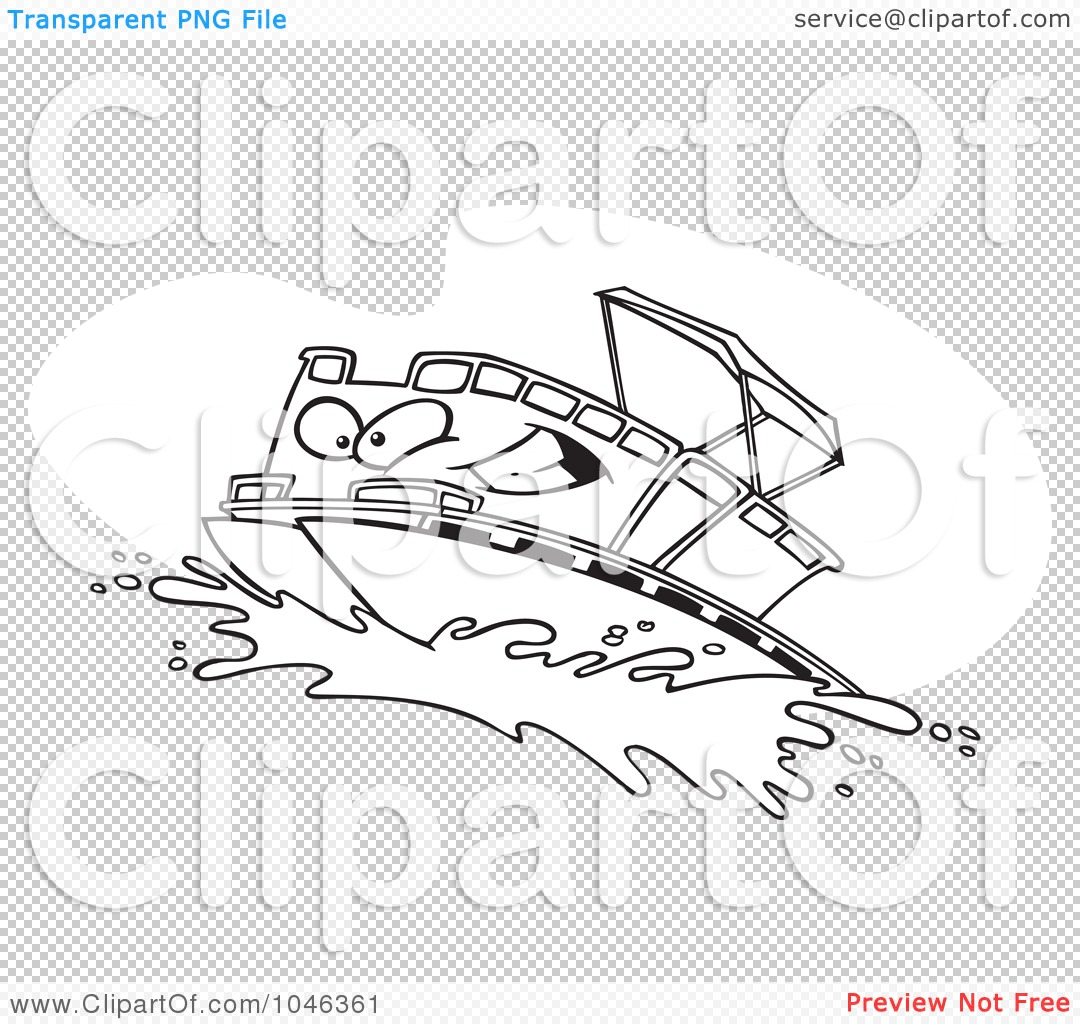 Pontoon clipart #10