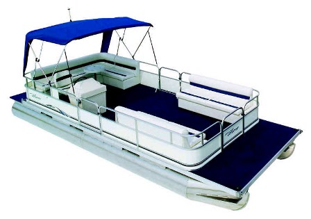 Pontoon Boat Clip Art.