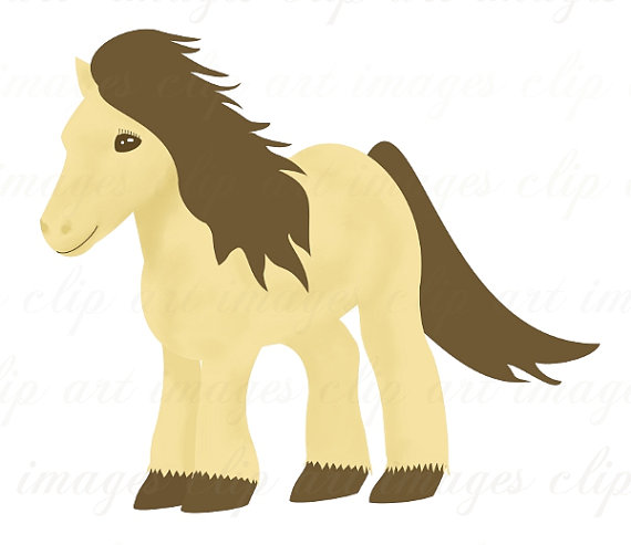 Pony Clip Art Royalty Free.