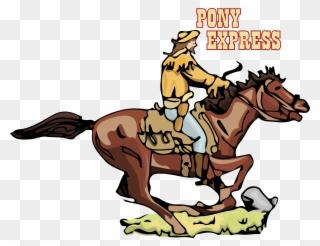 Ranch Clipart Pony Express.