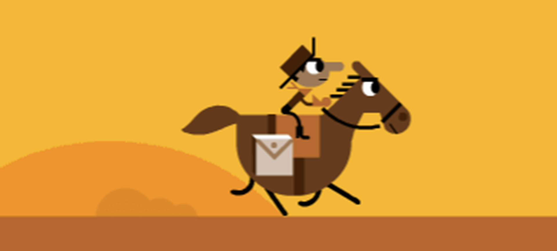 Ayn Rand and the Pony Express.
