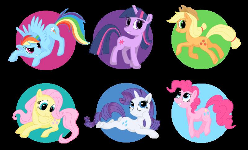 Ponies by Fur.