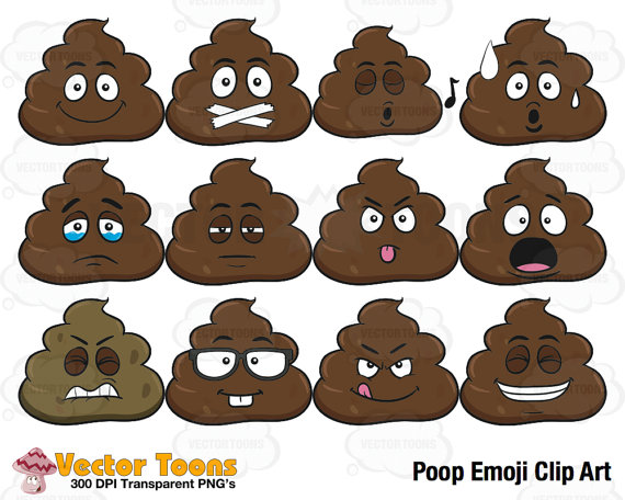 Baby poop clipart.