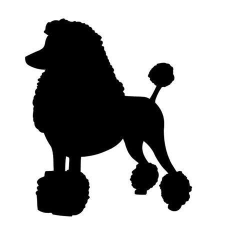 Poodle clipart black and white 2 » Clipart Portal.