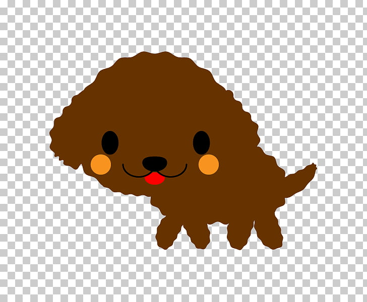 Puppy Toy Poodle Dog breed, Toy Poodle PNG clipart.