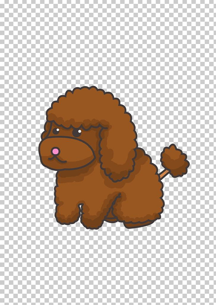 Toy Poodle Puppy Cartoon PNG, Clipart, Animal, Animals, Bear.