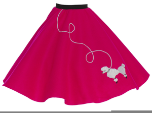 Clipart Poodle Skirt.