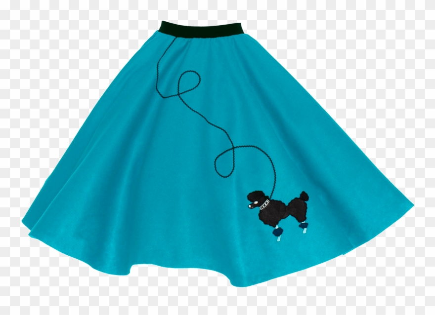 50\'s Poodle Skirts Png Clipart (#1090943).