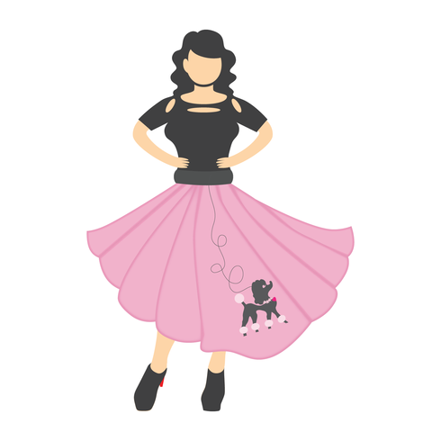 Poodle Skirt.