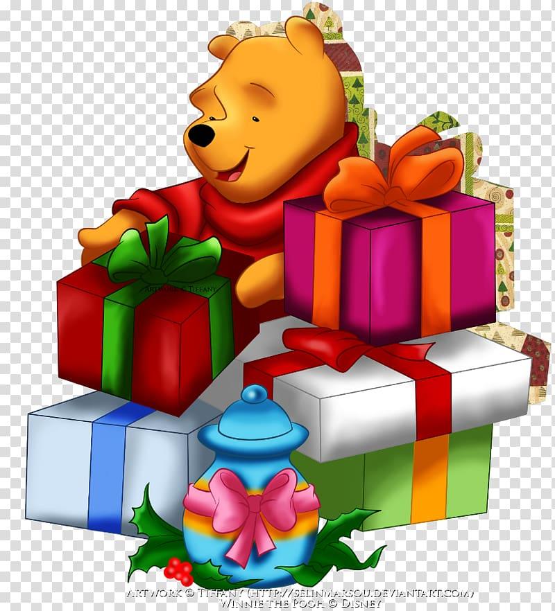 Winnie the Pooh Piglet Tigger Christmas , winnie pooh.