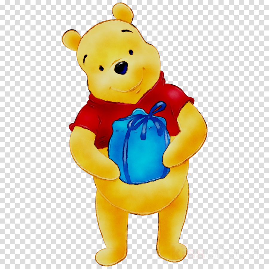 Winnie The Pooh Birthday clipart.