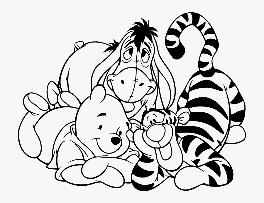 Transparent Classic Winnie The Pooh Clipart Free.