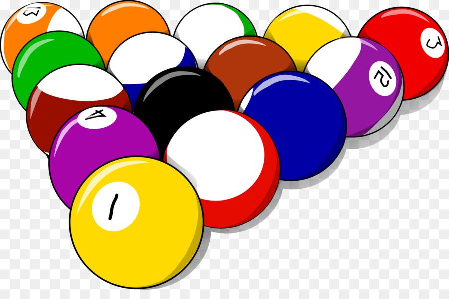 pool balls clipart Pool Billiards Clip art clipart.