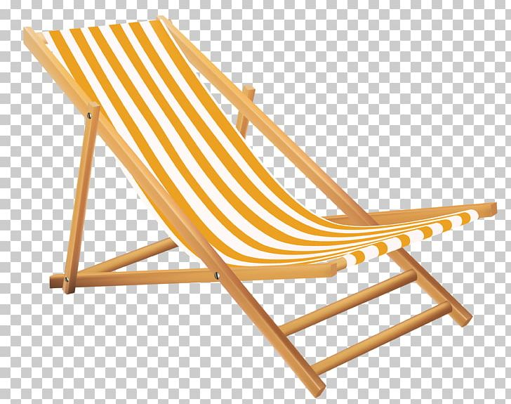 Yellow Beach Lounge Chair PNG, Clipart, Beach Lounge Chair.