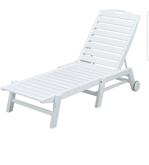 Chaise Swimming pool chair New River outdoor for Sale in Lawrenceville, GA.