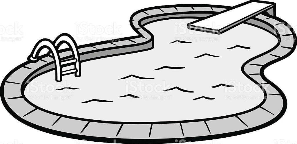 Pool clipart black and white 3 » Clipart Portal.