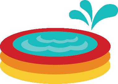 Kiddie pool clipart free images.