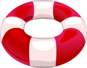Pool Floatie Clipart.