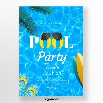 Pool Party PNG Images.