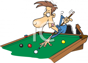 Playing pool clipart 4 » Clipart Portal.