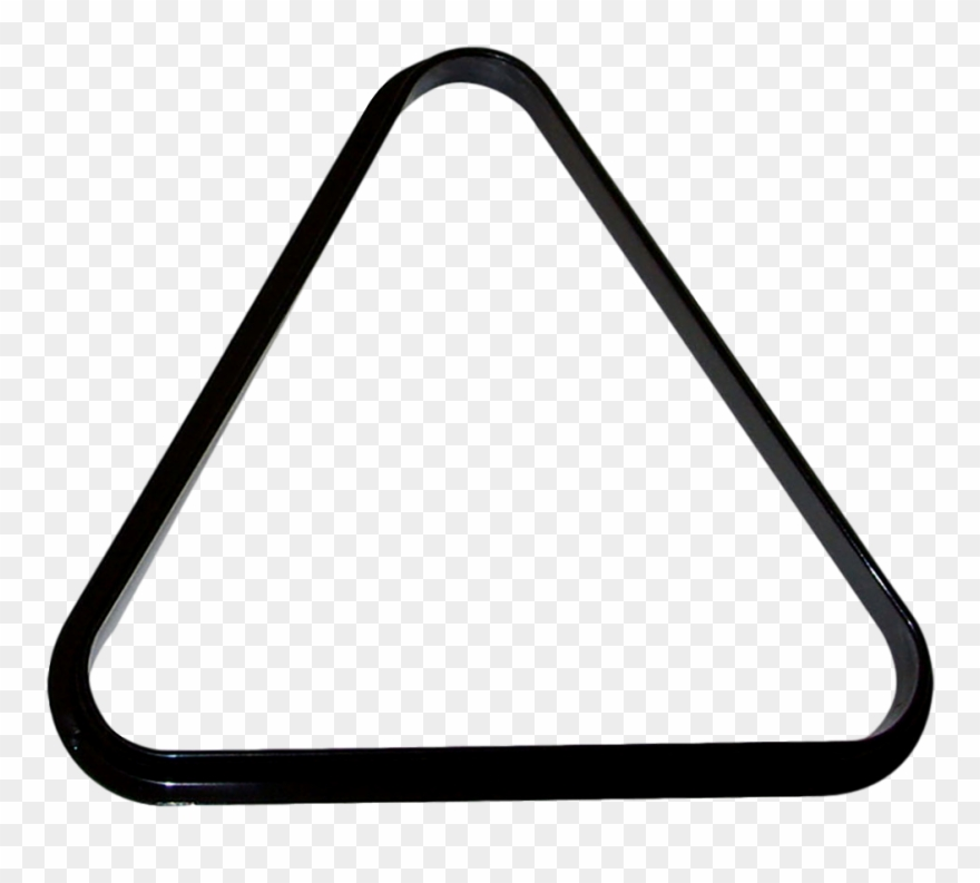 Hathaway Pool Table Billiard Ball Triangle Rack Clipart.
