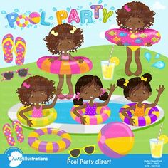 Pools, Parties and Pool parties on Pinterest.