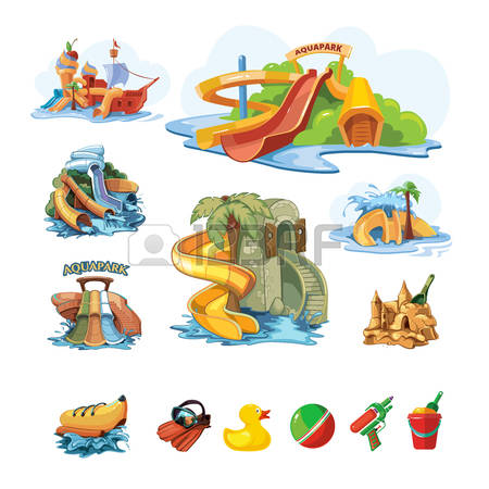 338 Water Slide Pool Stock Illustrations, Cliparts And Royalty.