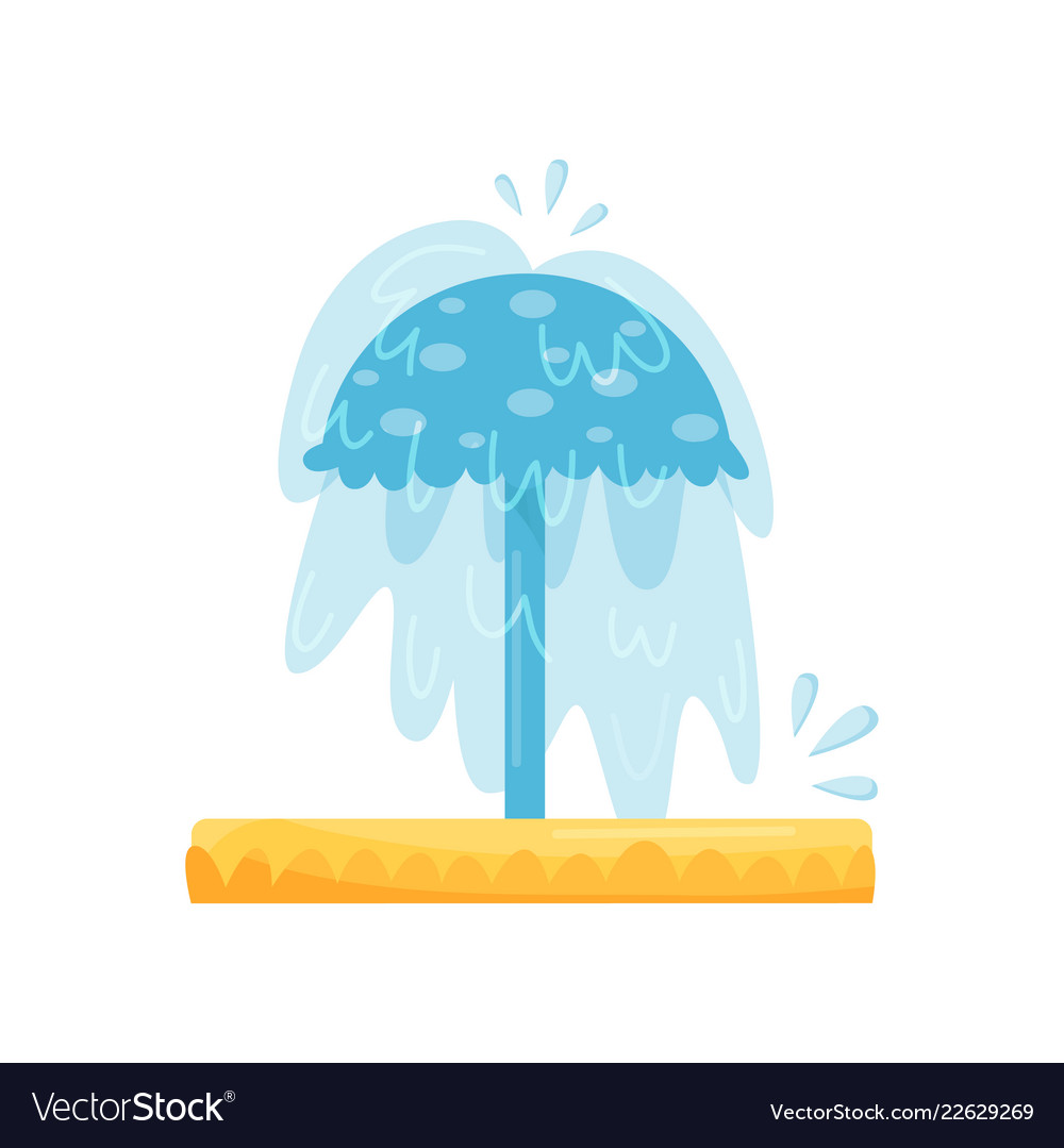 Splash pad water umbrella small pool for kids.